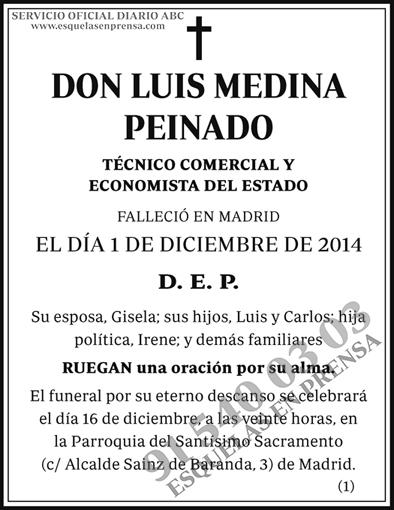 Luis Medina Peinado
